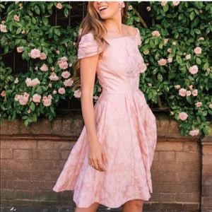 Gal Meets Glam Augusta Rose Dress